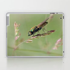 Green Soldier Fly Laptop & iPad Skin