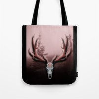 C-2 Horns Tote Bag