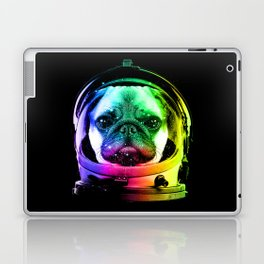 Astronaut Pug Laptop & iPad Skin