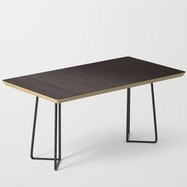 #Dark #brown Coffee Table