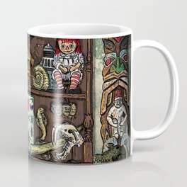 Creepy Cabinet of Curiosities Coffee Mug