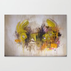 Mean Green Dual Action Minitiger Canvas Print