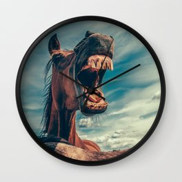 Horse smile Wall Clock