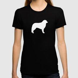 White Kuvasz Silhouette T-shirt
