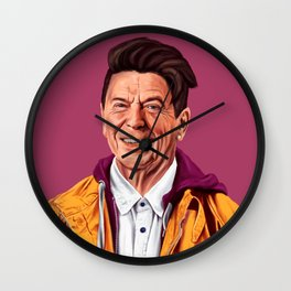 Hipstory - Ronald Reagan Wall Clock