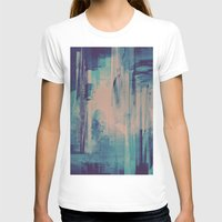 glitch T-shirts featuring slow glitch by La Señora