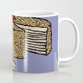 N is for Napoleon Cake Coffee Mug