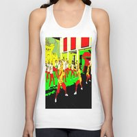 workout Tank Tops featuring Workout by lookiz
