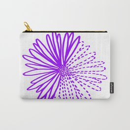 September Birth Flower - Aster Carry-All Pouch