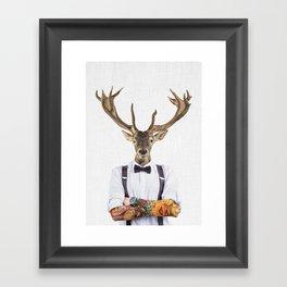 DIEGO WILD Framed Art Print