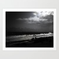 puerto rico Art Prints featuring Puerto Rico Shoreline by Judith Lee Folde Photography & Art