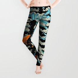 FISH BONE Leggings