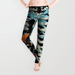 FISH BONE Leggings