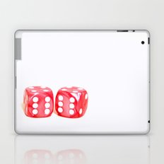 Lucky Dice fine art photography Laptop & iPad Skin
