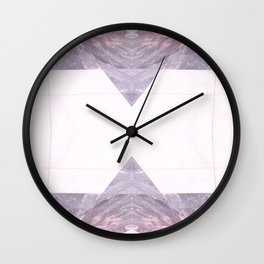 Marble floor (pattern #2) Wall Clock