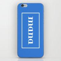 dota iPhone & iPod Skins featuring Mana by davzoku