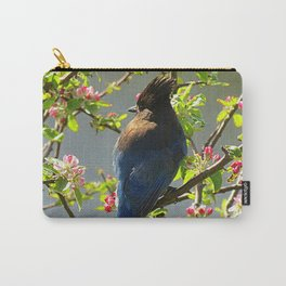 Steller Blooms Carry-All Pouch