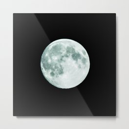 just moon Metal Print