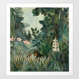 The Equatorial Jungle Art Print