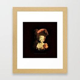 GO WEST - 023 Framed Art Print