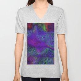 swirling nets Unisex V-Neck