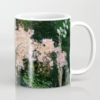 moss Mugs featuring Moss by Covered In Moons
