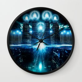 Capital City Wall Clock