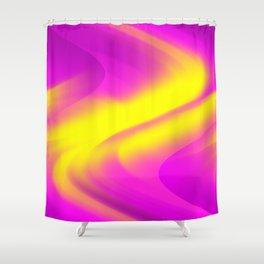 DREAM PATH (Purples, Fuchsias & Yellows) Shower Curtain