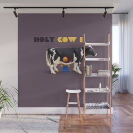 Holy Cow Wall Mural