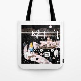 Winter Wonderlawn Tote Bag