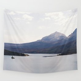 Sun Point, Glacier National Park, 35mm Wall Tapestry