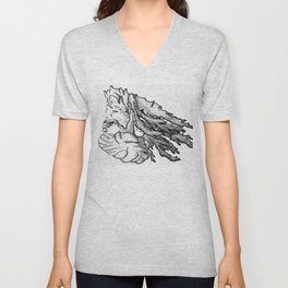 Wise Locks Unisex V-Neck
