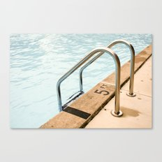 Pool Days 2 Canvas Print