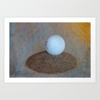 golf Art Prints featuring Golf by LoRo  Art & Pictures