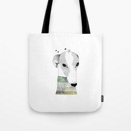 Mr. Galgo Dog Tote Bag