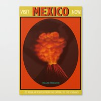 mexico Canvas Prints featuring Mexico by TheGretest