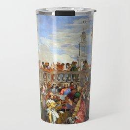 "Veronese (Paolo Caliari) ""The Wedding at Cana"" Travel Mug"