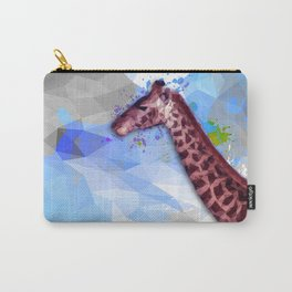 Low poly giraffe Carry-All Pouch