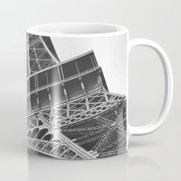 Eiffel Tower (Black and White) Coffee Mug