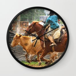 Gaucho  Wall Clock