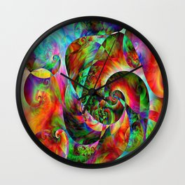 Forever Blind Wall Clock