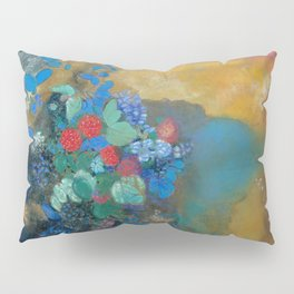 "Odilon Redon ""Ophelia among the Flowers"" Pillow Sham"