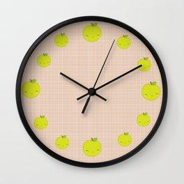 Mademoiselle Pomme Wall Clock