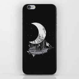 Moon Ship iPhone Skin