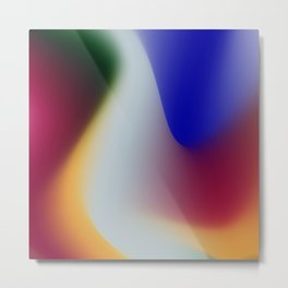 Abstract colors Metal Print