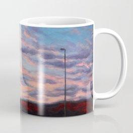 Freeway sunset Coffee Mug