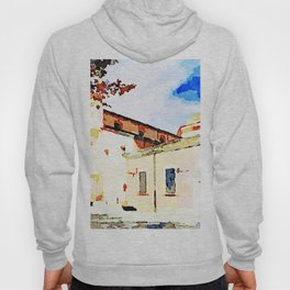 L'Aquila: church facade and dome Hoody