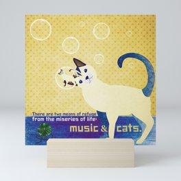 Soap bubbles 3 Mini Art Print