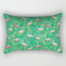 Flamingoes! Rectangular Pillow