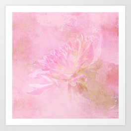 The Best Things In Life Are Unseen - Flower Art Art Print